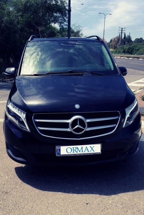 SUV Mercedes GL с водителем Израиль