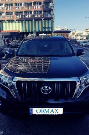 Аренда Toyota с водителем Израиль