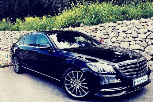 Mercedes Benz S class Israel