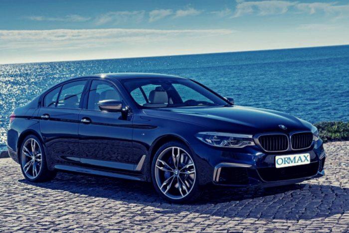 השכרת BMW 5 עם נהג בישראל