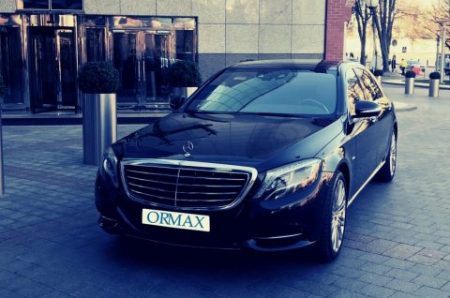 Mercedes Benz S class with driver Israel