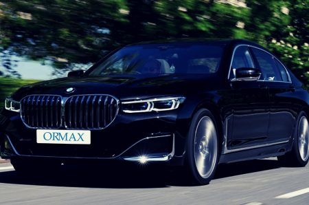 BMW 5 series with driver Israel
