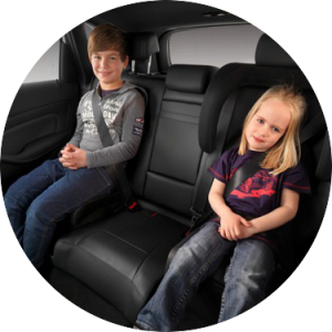 Car rental with child seats