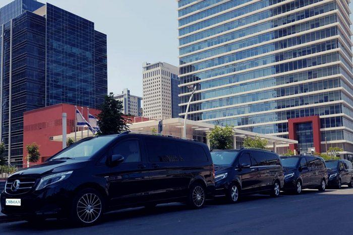 Mercedes rental minivan Israel