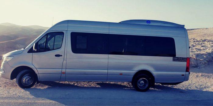 Minibus rental Israel