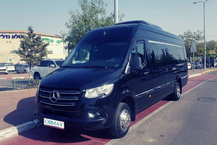Rental minibus Mercedes Sprinter Israel