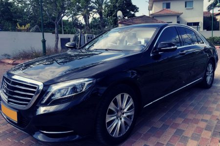 VIP Mercedes S with driver