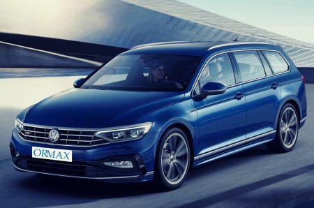 Volkswagen Passat with driver Israel