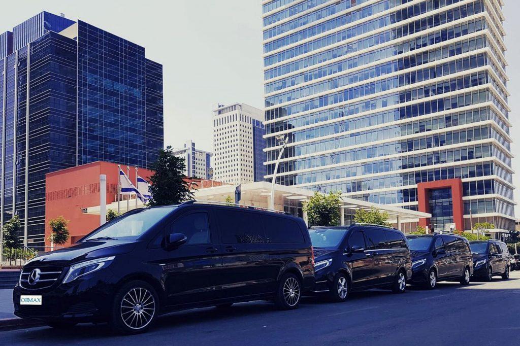 Автомобиль с водителем для деловых групп, дипломатов, послов в Израиле