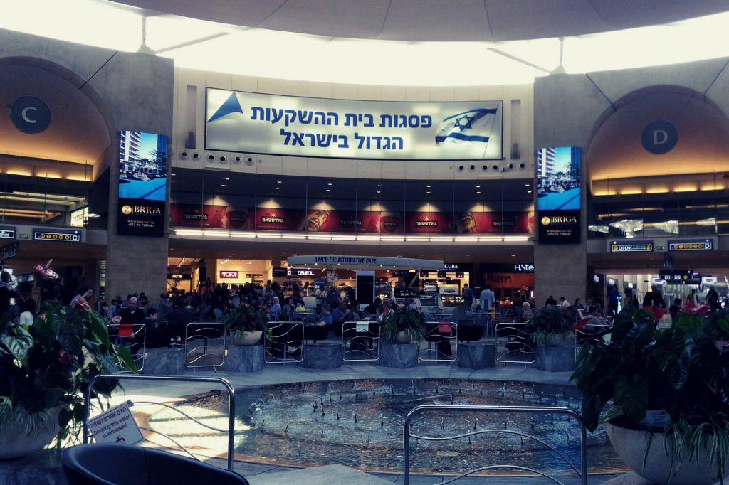 Car with driver to Israel airport
