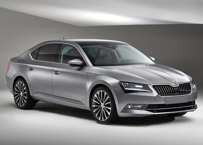skoda-superb-with-driver-israel