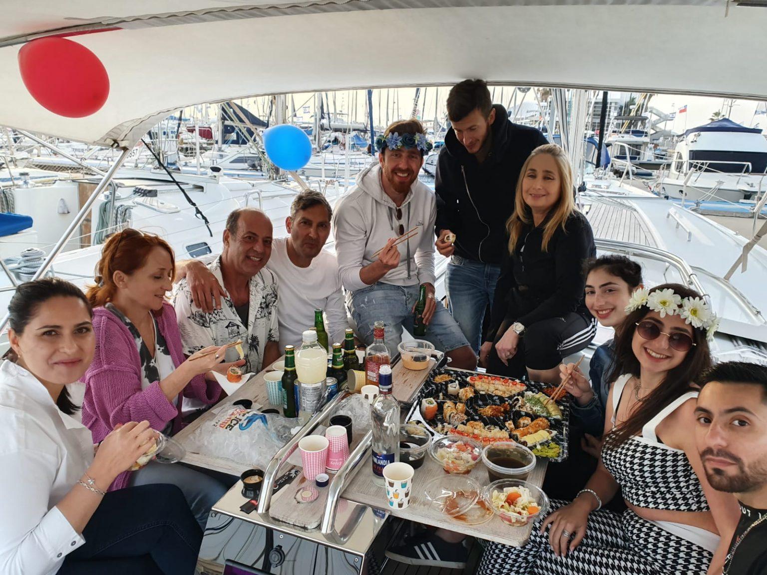 Частные туры на яхте в Израиле