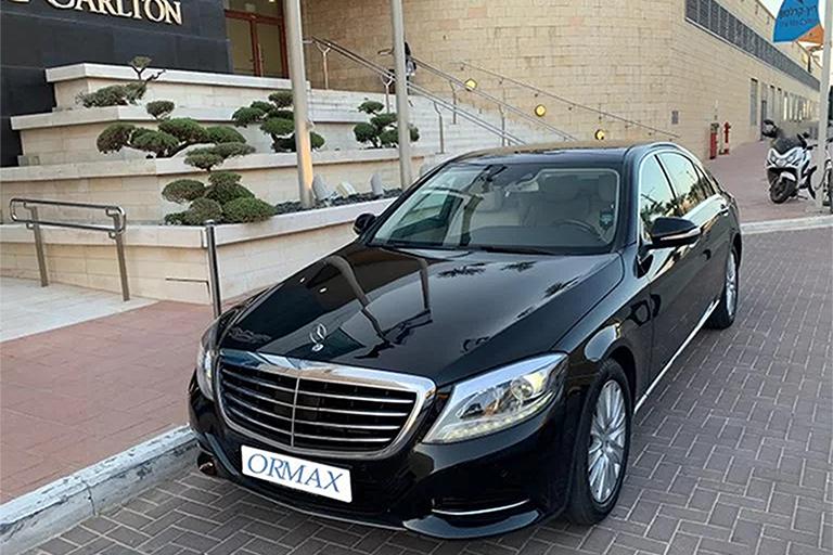 chauffeur service in israel
