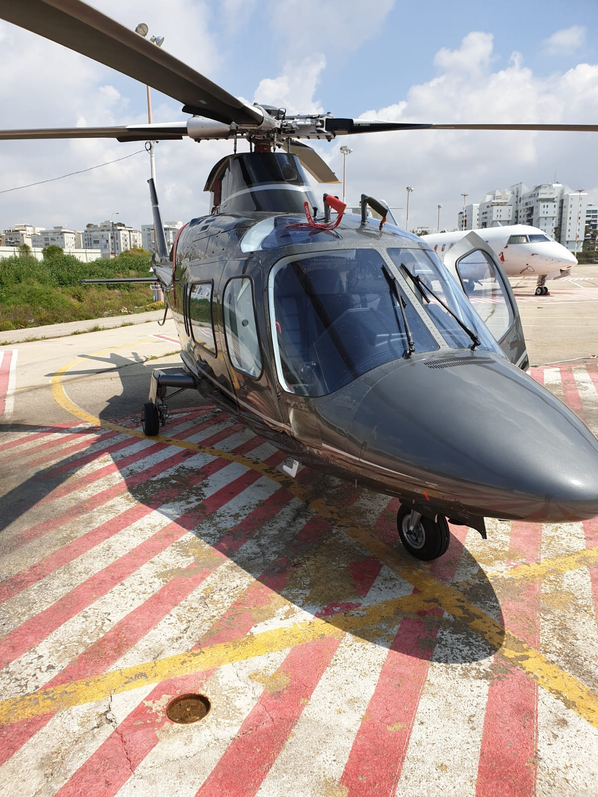 helicopter rent israel