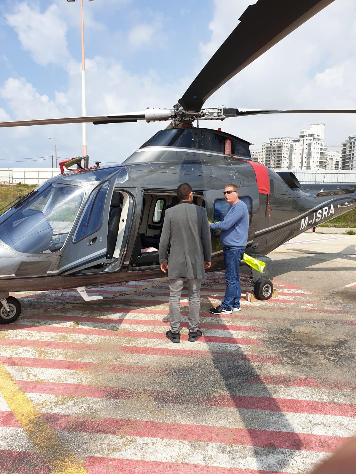 rental helicopter israel
