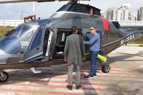 Аренда вертолета в Израиле